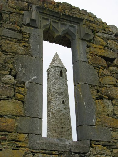Ratoo Round Tower - Kerry